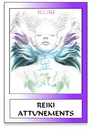 REIKI ATTUNEMENTS